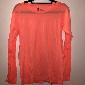 NEVER BEEN WORN Z by Zella Orange Long Sleeve